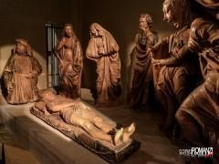Bologna Chiesa Santa Maria Vita Compianto Cristo morto Niccolò Dell'Arca