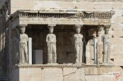 Portico Cariatidi e Erechtheion (Atene)