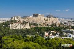 Acropoli dal Philopappo (Atene)
