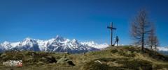 Splendida vista dalla Croce di Fana (Quart)