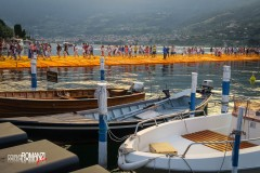 The floating piers Iseo