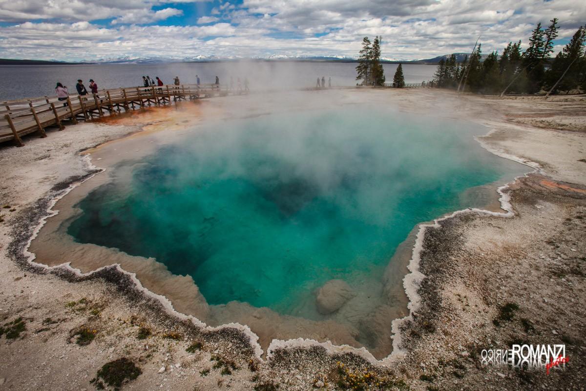 Yellowstone West Thumb Geyser Basin