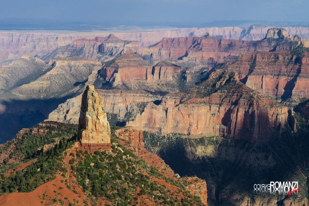Il gigante silenzioso nel Grand Canyon North Rim