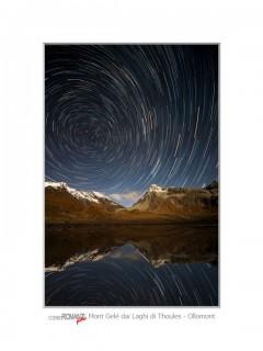 Mont Gele notturna