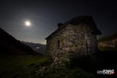 Chiaro di luna all'Alpe Chesère (Sarre)